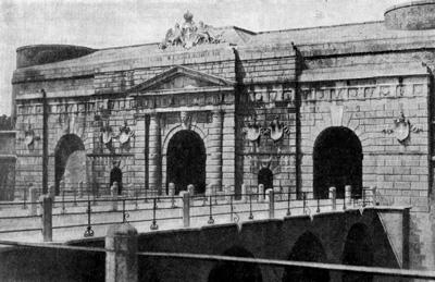 Архитектура эпохи Возрождения в Италии: Верона. Порта Нуова. Микеле Санмикели