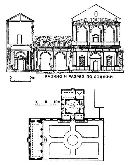 Падуя. Палаццо Джустиниани. Лоджия и казино, 1524 г. Фальконетто