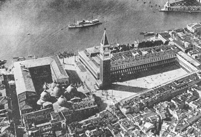 Архитектура эпохи Возрождения в Италии: Венеция. Площадь Сан Марко и Пьяццетта