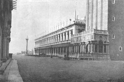 Архитектура эпохи Возрождения в Италии: Венеция. Библиотека Сан Марко и Лоджетта. Я. Сансовино