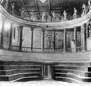 Архитектура эпохи Возрождения в Италии: Саббионета. Театр, 1588 г. Скамоцци