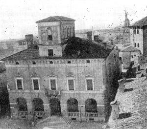 Архитектура эпохи Возрождения в Италии: Саббионета. Ратуша, 1588 г. Скамоцци