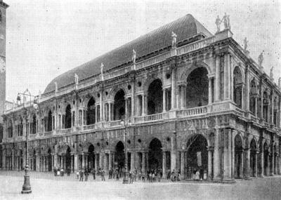 Архитектура эпохи Возрождения в Италии: Виченца. Базилика, 1549 г. Палладио