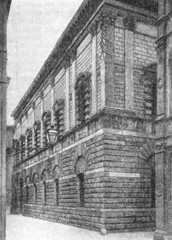 Архитектура эпохи Возрождения в Италии: Виченца, Палладио. Палаццо Тьене