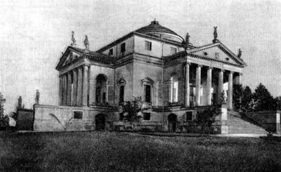 Архитектура эпохи Возрождения в Италии: Палладио. Вилла Ротонда в Виченце, с 1551 г.