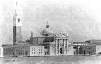 Архитектура эпохи Возрождения в Италии: Венеция. Монастырь и церковь Сан Джорджо Маджоре