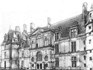 Архитектура Франции эпохи Возрождения: Экуан. Замок, начало — 1538 г., конец — третья четверть XVI в. Бюллан и др.